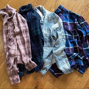 {uo} flannel bundle